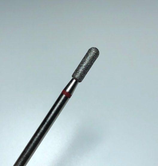Freesbit Diamant Cilinder met ronde kop (rood)
