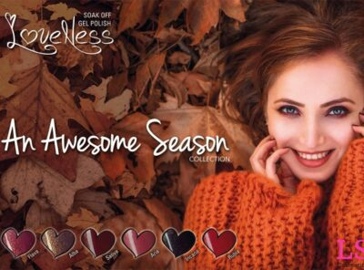 LoveNess An Awesome Season Collection Banner LS Cosmetics