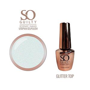 SO GUILTY Glitter Top Utopian Gelpolish