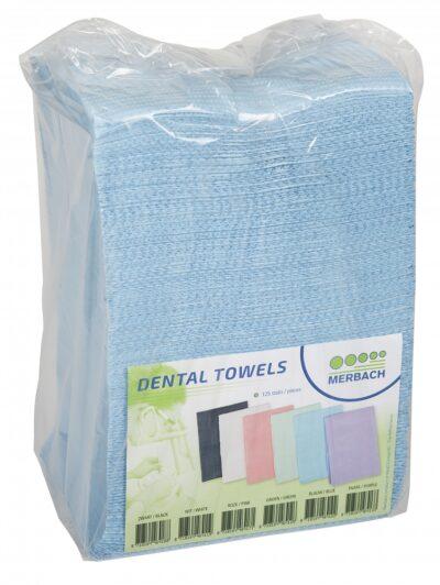 Merbach Dental Towel Blauw 3lgs Pap
