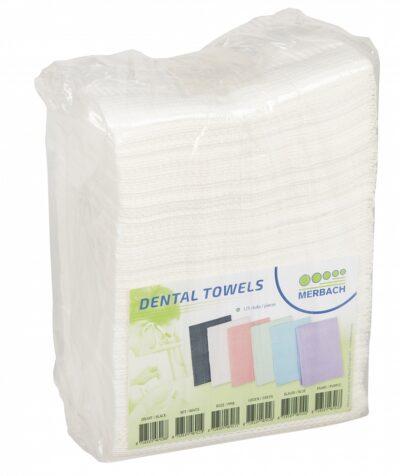 Merbach Dental Towel Wit 3lgs Pap