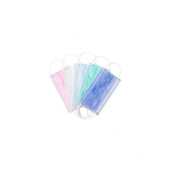 Merbach mondmasker 3-laags met elastiek