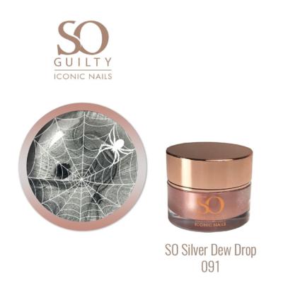 SO GUILTY 091 Spidergel Silver Dew Drop