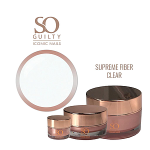 SO GUILTY Surpreme Fiber Gel Clear