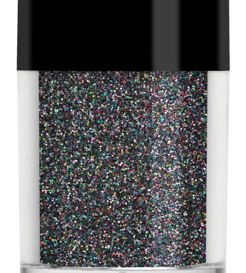 Lecenté Holographic Glitter Black 8 gr.