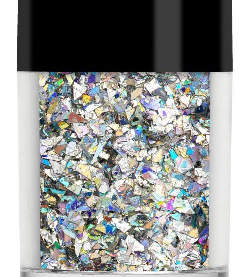 Lecenté Random Glitter Silver Holographic Crushed Ice 8 gr