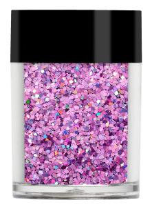 Lecenté Squares Glitter Holographic Pink 8 gr.