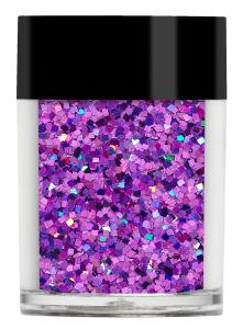 Lecenté Squares Glitter Holographic Purple 8 gr.