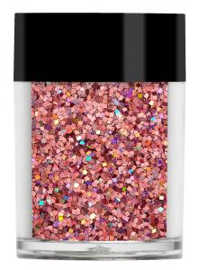 Lecenté Squares Glitter Holographic Rose 8 gr.