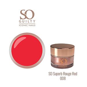 SO GUILTY One Stroke Gel 008 Rouge Red