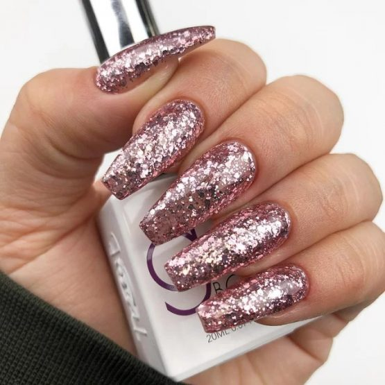 The GelBottle Glitter #BABE 20ml.