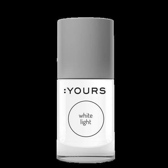 YOURS Stempellak 001 White Light 10 ml