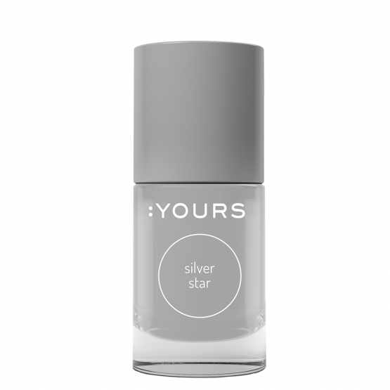 YOURS Stempellak 004 Silver Star 10 ml