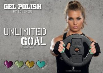 LoveNess Gelpolish Unlimited Goal Collection 4st