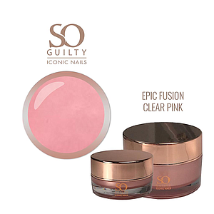 SO GUILTY Epic Fusion Gel Clear Pink