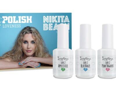 LoveNess Gelpolish Nikita Beach Collection 4st