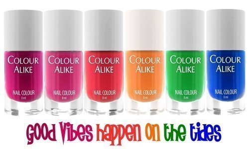 YOURS Colour Alike Good Vibes Happen On The Tides Collection