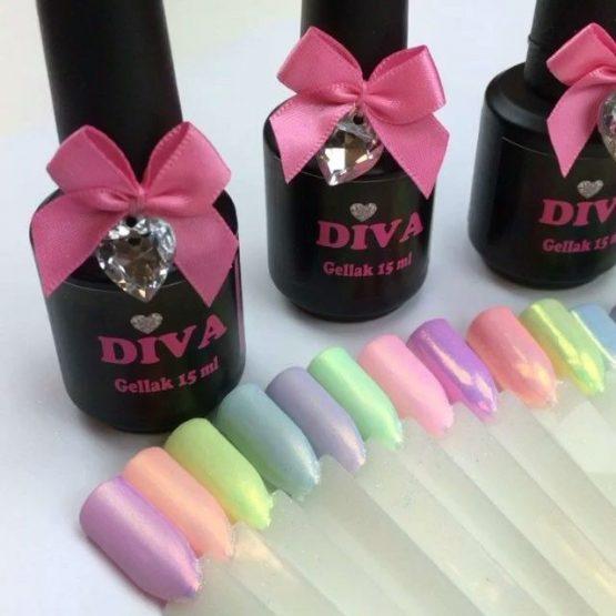 Alle kleuren Diva Gelpolish