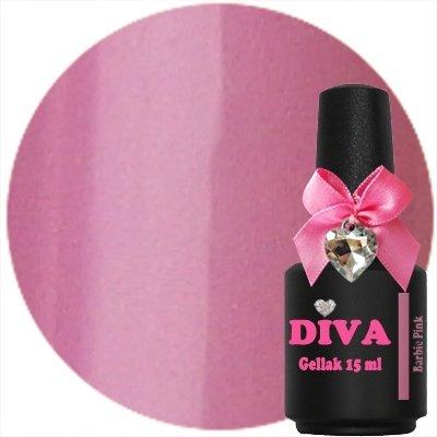 Diva Gellak Barbie Pink 15 ml .