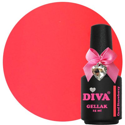 Diva Gellak Coral Strawberry 15 ml