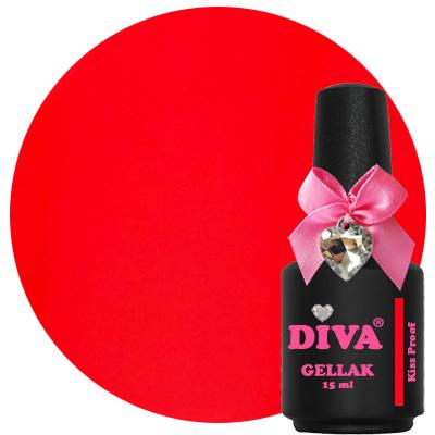 Diva Gellak Kiss Proof 15 ml