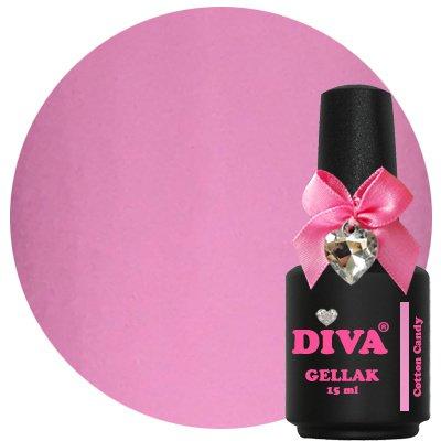 Diva Gellak Pastel Cotton Candy 15 ml .