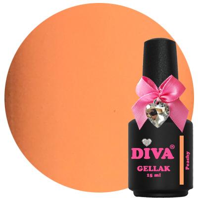 Diva Gellak Pastel Peachy 15 ml.