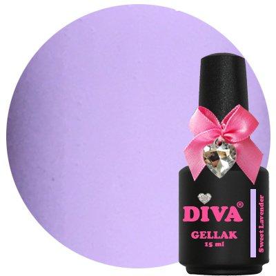 Diva Gellak Pastel Sweet Lavender 15 ml.