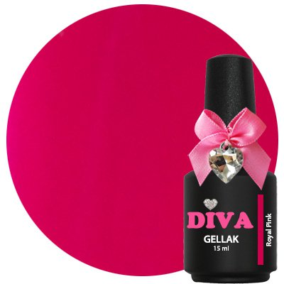 Diva Gellak Royal Pink 15 ml