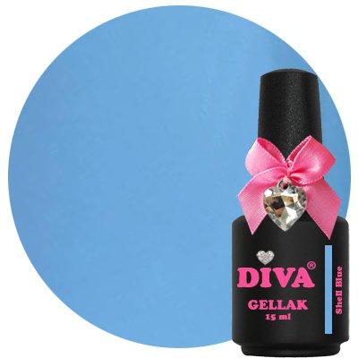 Diva Gellak Shell Blue 15 ml