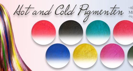 Diamondline Hot and Cold Pigmenten Set van 8 stuks