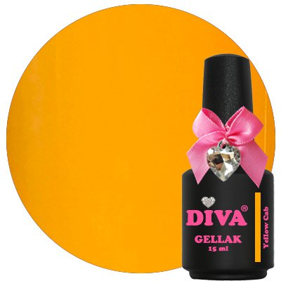 Diva Gellak Yellow Cab 15 ml