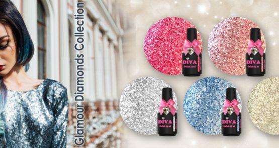 Diva Glamour Diamonds Collection 1. 5 x 15 ml