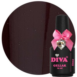 Diva Gellak Ebony 15 ml