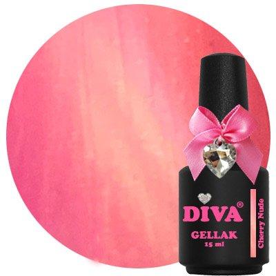 Diva Gellak Cat Eye Cherry Nude 15 ml