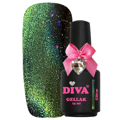 Diva Gellak 9D Cat Eye Glitter