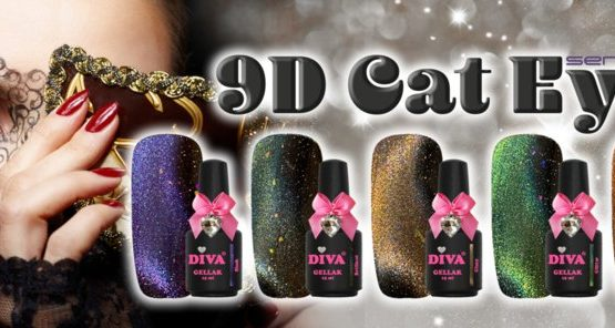 Diva Gellak 9D Cat Eye serie 2 5x15ml