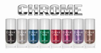 Colour Alike Stempellak Chrome 8 x 8ml