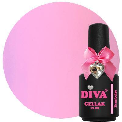 Diva Gellak Pastel Framboise 15 ml