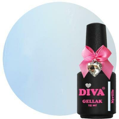 Diva Gellak Pastel Myrtille 15 ml