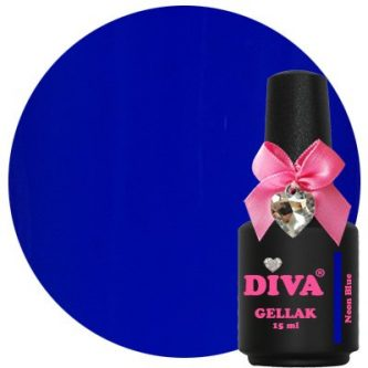 Diva Gellak Neon Blue 15 ml