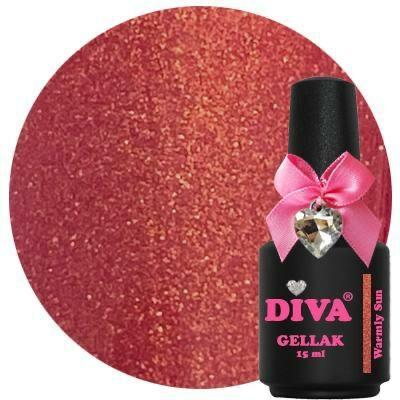 Diva dress your nails Warmly Sun