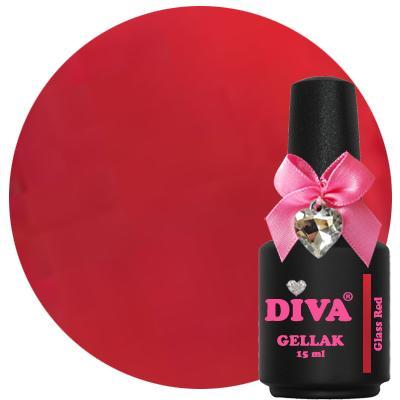Diva Gellak Glass Red