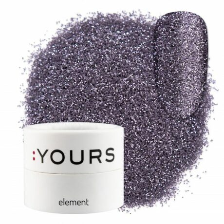 YOURS Element Eco Glitter Violet Mystery
