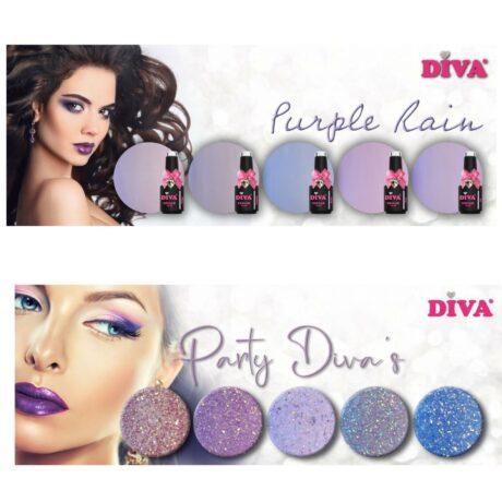 Diva Gellak Purple Rain + Party Diva's Collection